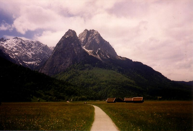 Road to the Zugspitze