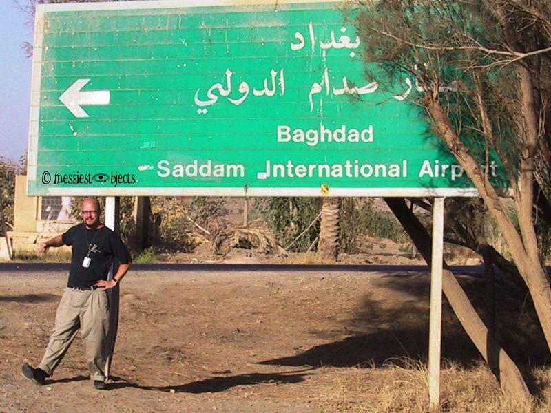 Saddam Int. Airport-Sign Dance