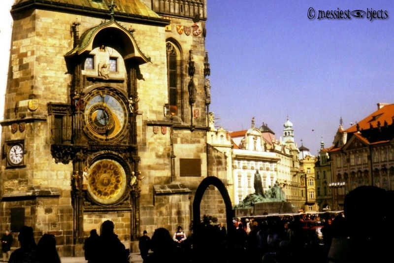 Astrological Clock in the Old Town Square of Prague