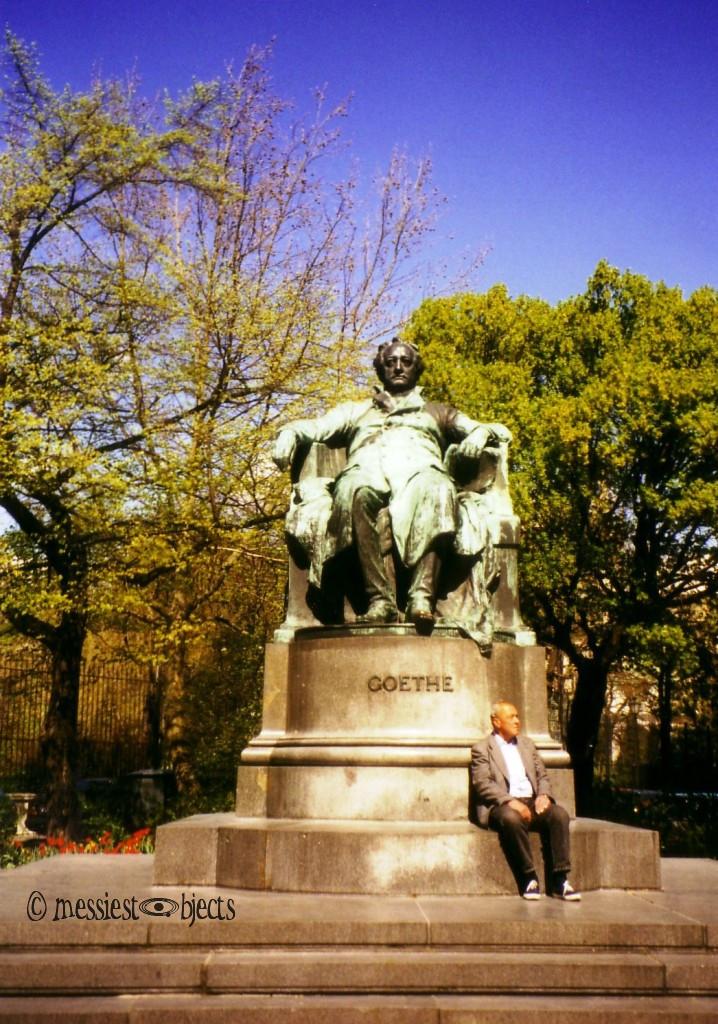 Goethe statue in Vienna, Austria