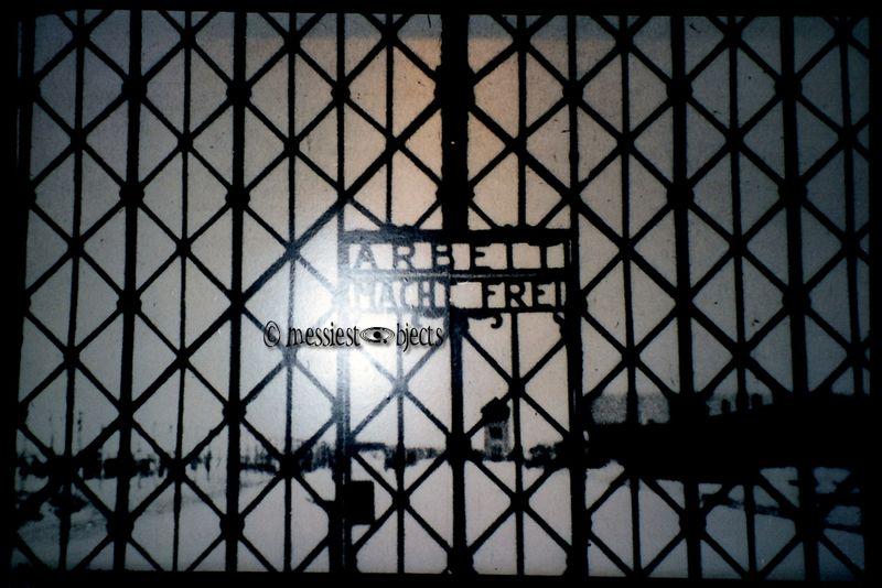 Arbeit Mact Frei in Dachau, Germany