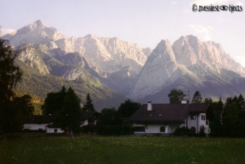 From A to Z... The Alpspitze and Zugspitze