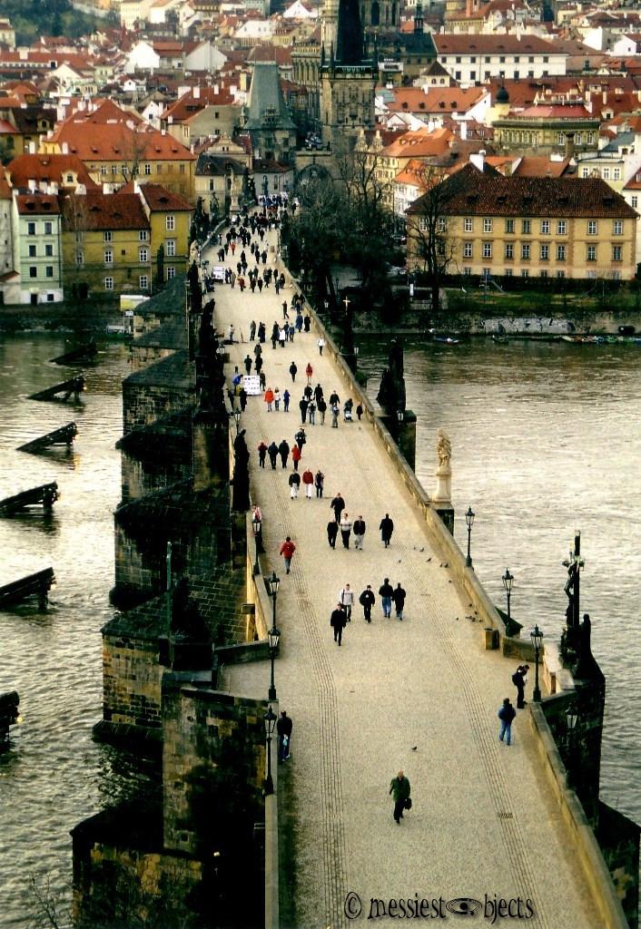 Karlovy Most (Charles Bridge) From Clock Tower