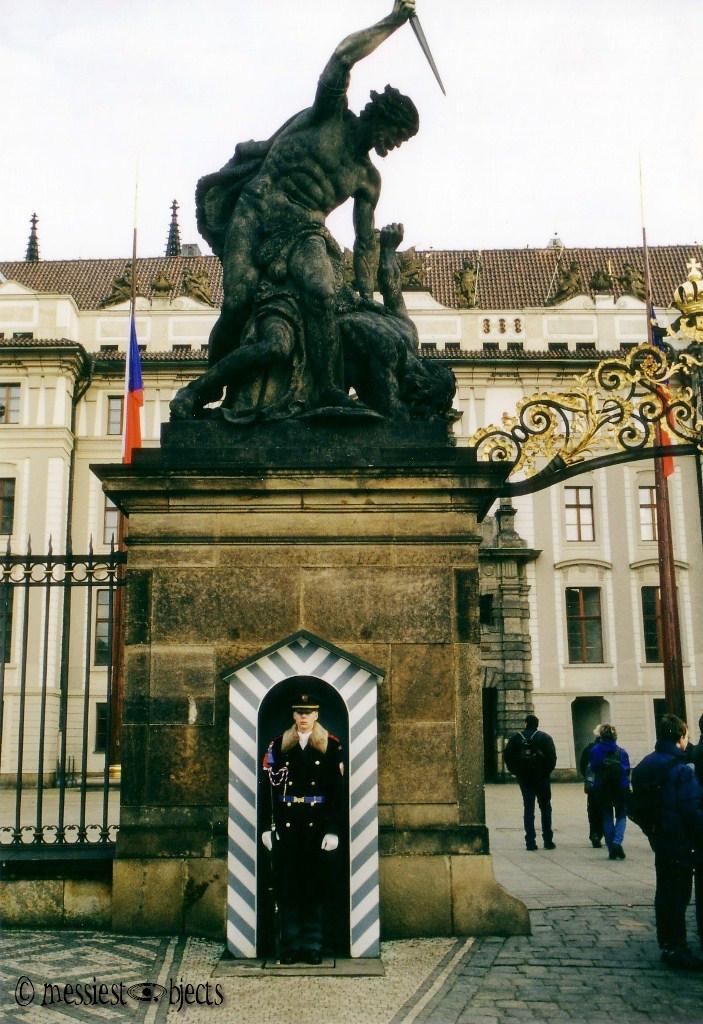 Prague Castle Gate
