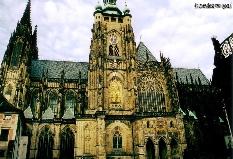St Vitus' Cathedral-Side