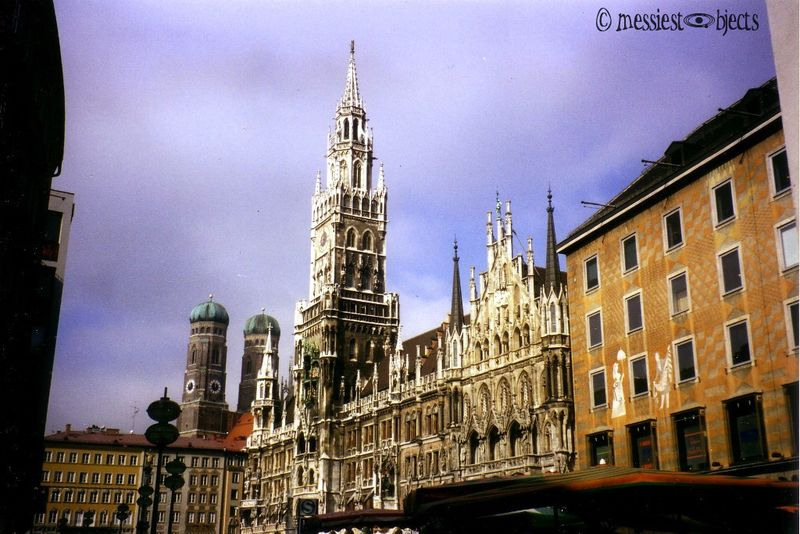 Neu Rathaus ('New' Town Hall) in Munich, Germany