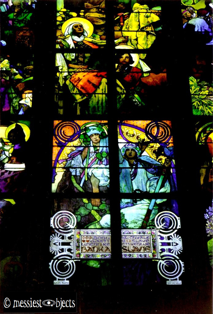 Alfonse Mucha's Stained Glass in St Vitus' Cathedral