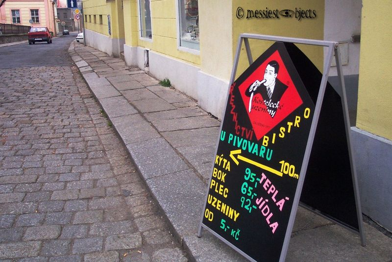 Czechs don't eat sausages very, uh, hetero