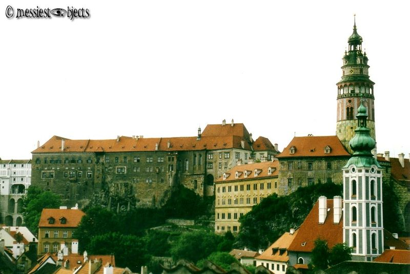 The castle of Cesky Krumlov