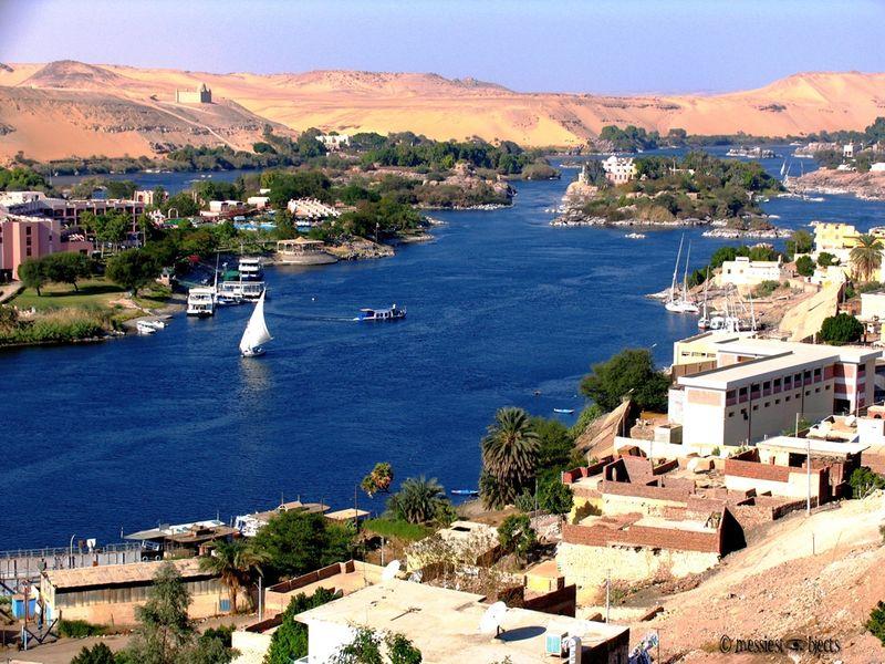 Nile2 From Nubian Restaraunt